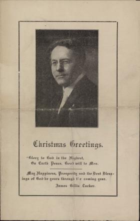 Mt. Vernon, Illinois First Methodist Episcopal Church bulletin