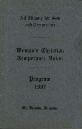 Woman's Christian Temperance Union program