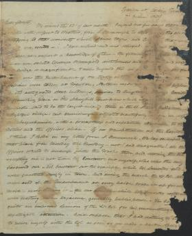 "Letter from Charles Gardner to Thomas Gardner and ""Mother"""