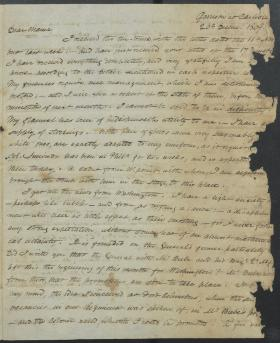 """Letter from Charles Gardner to """"Mother"""""""