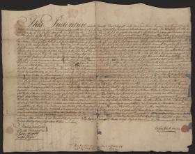 Deed for Land Sold by John Dickinson to William Killen