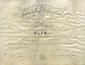 Bachelor of Law Diploma - Leon Prince