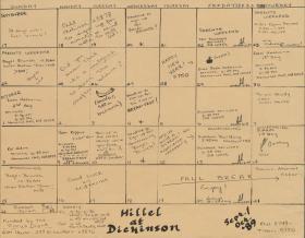 Hillel Council Calendar of Events