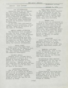 The Daily Senator (Spring 1964)