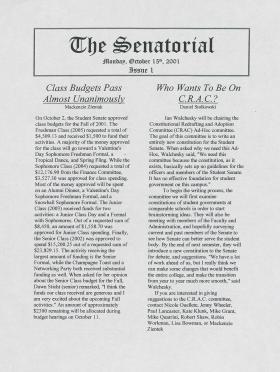 The Senatorial