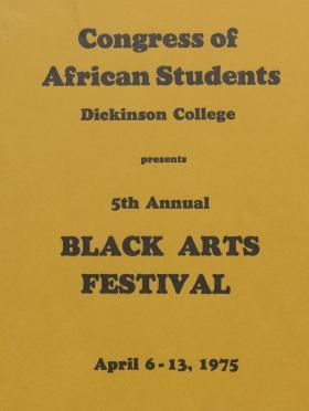 Black Arts Festival 1975