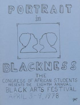 """Portrait in Blackness"": Black Arts Festival 1978"