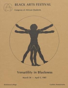 """Versatility in Blackness"": Black Arts Festival 1981"