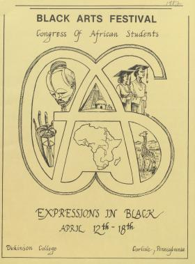 """Expressions in Black"": Black Arts Festival 1982"