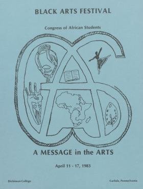 """A Message in the Arts"": Black Arts Festival 1983"