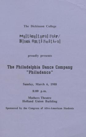 Black Arts Festival: Philadelphia Dance Company
