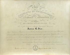 Bachelor of Arts Diploma - James Steese