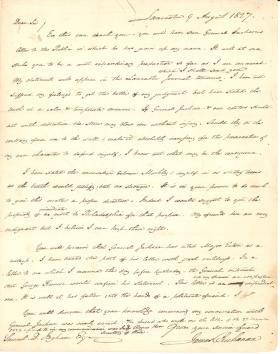 Letters from James Buchanan to Samuel Ingham