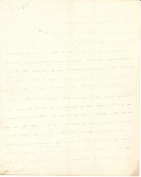 Letter from James Buchanan to Thomas J. Randolph