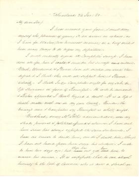 Letters from James Buchanan to Robert Tyler