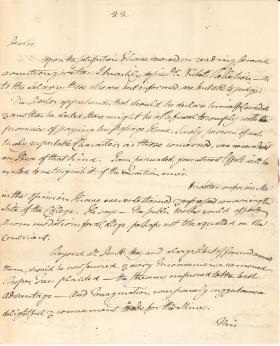 Letters from John Dickinson to Benjamin Rush