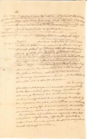 Letter from John Dickinson to Caesar Augustus Rodney