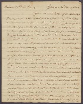 Letter from James McKenzie to Charles Nisbet