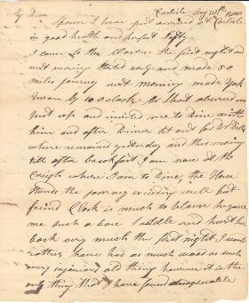 Letter from William Young to Agnes Young