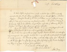 Letter from John Young to William Young