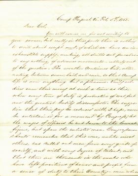 Letters from Thomas Chamberlin to Eli Slifer