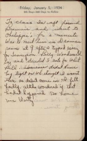 Diary of Hazelle Allen