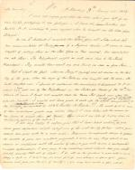 Letter from James Buchanan to J. Randolph Clay