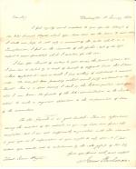 Letters from James Buchanan to Isaac Wayne