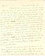 Letter from James Buchanan to Hugh Hamilton