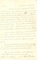 Letters from James Buchanan to Isaac D. Barnard