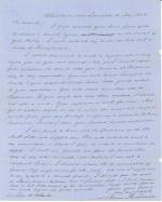 Letters from James Buchanan to John Wheeler