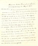 Letters from James Buchanan to James L. Reynolds
