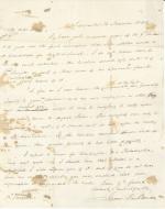Letters from James Buchanan to Daniel Sturgeon