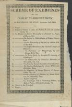 1812 Commencement Program