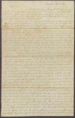 Letter from John Reynolds to James Buchanan