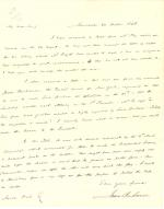 Letters from James Buchanan to Aaron Vail