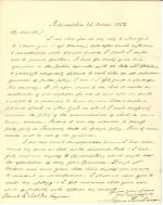 Letter from James Buchanan to Daniel Sickles