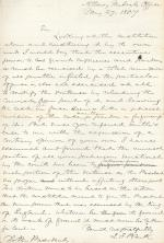Letter from Jeremiah Black to James Buchanan
