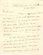 Letter from James Buchanan to Harrisburg Democrats