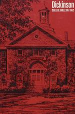 Dickinson College Bulletin, Annual Catalogue Issue, 1962-63