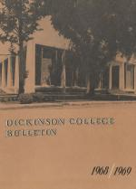 Dickinson College Catalog, 1968-69