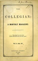 Collegian (Vol. 1, No. 4)