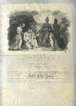Belles Lettres Society Diploma - William Davis