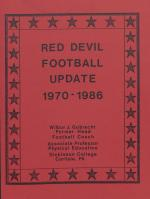 """Red Devil Football Update: 1970-1986,"" by Wilbur Gobrecht"
