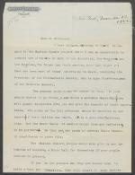 Letter from Andrew Carnegie to Mr. Hitchcock