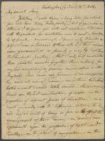 Letter from Benjamin Latrobe to Mary Latrobe