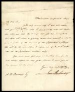 Letter from James Buchanan to A. B. Cummings