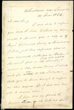 Letter from James Buchanan to T. Apolian Cheney
