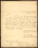 Letter from Roger B. Taney to Charles Mercer