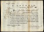 Paycheck from John Dickinson to Jacob Bower
